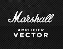 Marshall - Amplifier vector