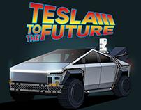 Tesla to the Future fan art
