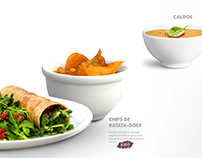 Mr. Fit. Fast Food saudável