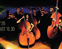 Open-air concert poster