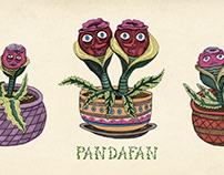 PandaFan Pot Heads