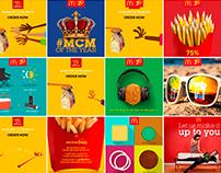 McDonald's social media posts
