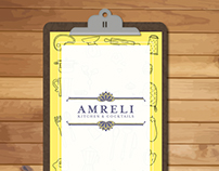 Flipboard Menu - Amreli Kitchen & Cocktails