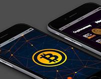 Cryptocurrency WordPress Theme - iPhone Responsive View