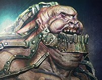 Creación de personajes: Mecha Cyclops
