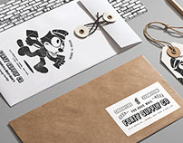 Forty Supply Co. - Branding & Illustration