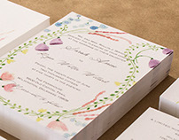 Ryan & Sarah Wedding Invitations