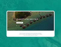 Relax with SuRi - web-site design