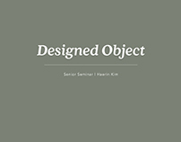 Designed Object