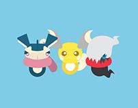 Pokemon Character Icons