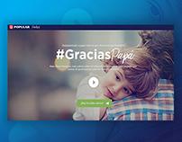 Banco Popular  - #GraciasPapá