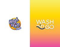 Wash 'n Go Singles Logo and Packaging Rebrand