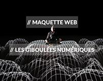 Maquette Web // Les Giboulées Numériques