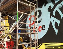 Mural Project - D2 Place HK
