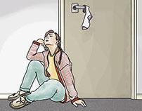 Reporter Magazine Editorial Illustrations
