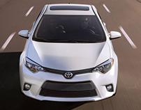 Hickory Toyota Homepage Slides