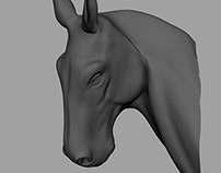 Digital Horse Busts