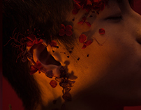 """""""Red ‧ Floral ‧ Man"""" for Volition Magazine"""