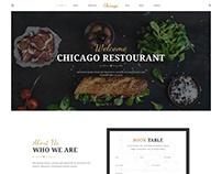 Chicago - Multi-Purpose HTML/CSS Restaurant Template