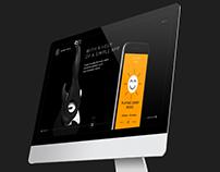 Robot Rock website concept
