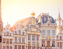 Bruxelles - Night & day
