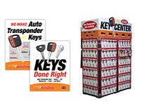 Autozone Key Displays