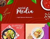Light Options Restaurant l Social Media