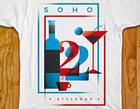 SOHO 22 - Anniversary t-shirts