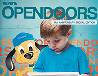 MAGAZINE DESIGN | Open Doors School