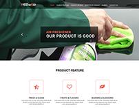 Freshener - Onepage eCommerce PSD Template