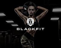 BLACKFIT - Fitness & Gym Club Website Design