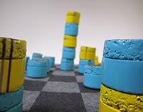 Pin-N-Stack Chess