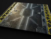 Sci-Fi Floor Piece