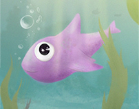 Little pink fish