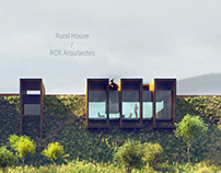 Visualization of Rural House by RCR Arquitectes