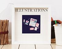 Branding Illustrations | sofisarevalo