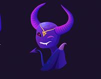 Demonesse - telegram stickers