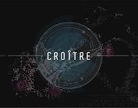 Hotel de Cordon, nouvelle scénographie salle Croître.