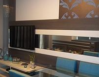 Sala de Estar/Jantar & Cozinha