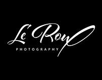 Courtney LeRoux Photography: Logo Design