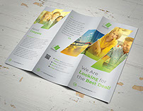 Clean Business Trifold Vol 2