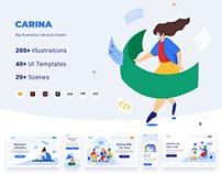 Carina Illustration Library & Creator