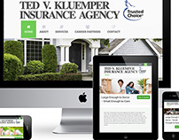 Kluemper Insurance - Website Re-design