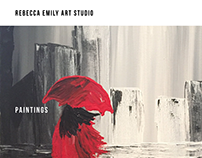 Rebecca Emily Art Studio Website