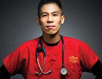USC Healthcare // Nurse Portrait // Ads