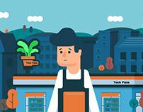 工研院綠能所「IoT 物聯網」概念說明動畫