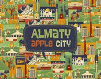Almaty apple city