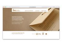 Imprenta Minerva; Web y Portafolio