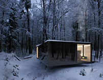 Winter inspiration \ The architectural concept - CGI