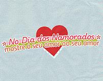 Campanha Dia dos namorados - Sacolão da Santa